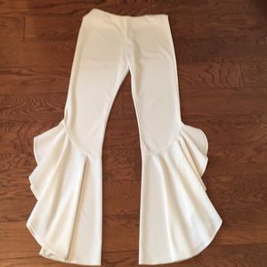 Pants - White flare leg dress pant